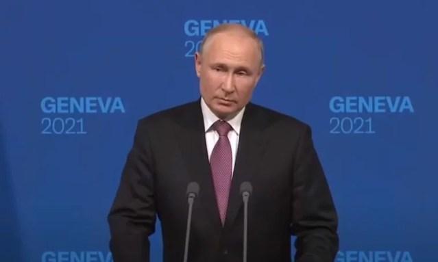 Putin critica a estados unidos asesino asesinatos ocurridos en medio oriente por militares gringos