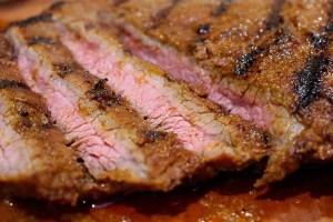 Flanksteak Sous Vide ger dig ett mycket mört kött.