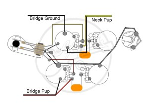 WIRING DIAGRAMS FOR EPIPHONE GIBSON SG  Auto Electrical
