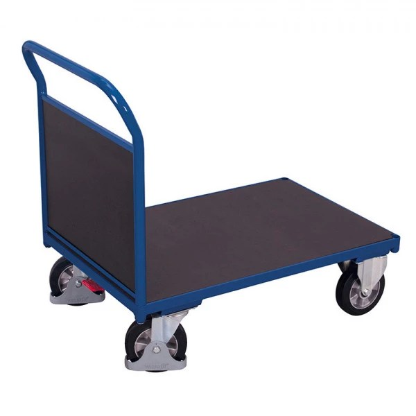 Chariot A Plateau Antiderapant Robuste Chariots Magasin Et D Atelier Axess Industries