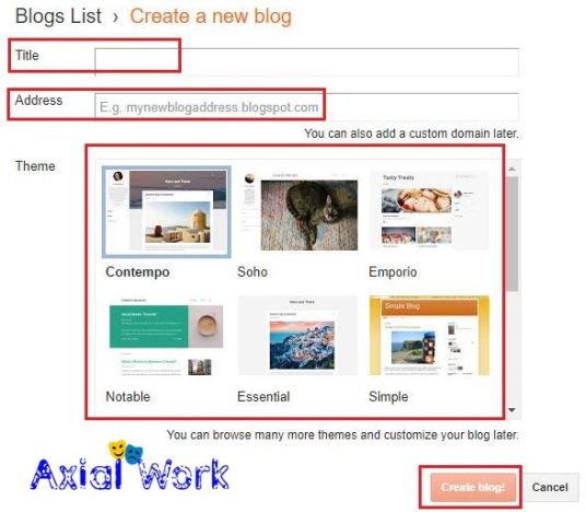 Blogger me website kaise banaye step by step