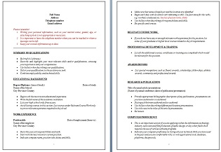 What to put on a resume...?