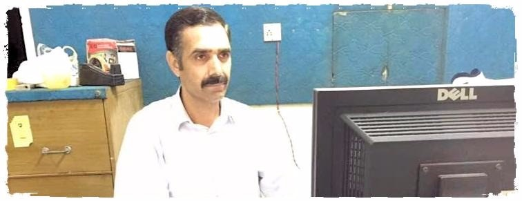 Tariq Sarfaraz (Store manager of axis electronics)