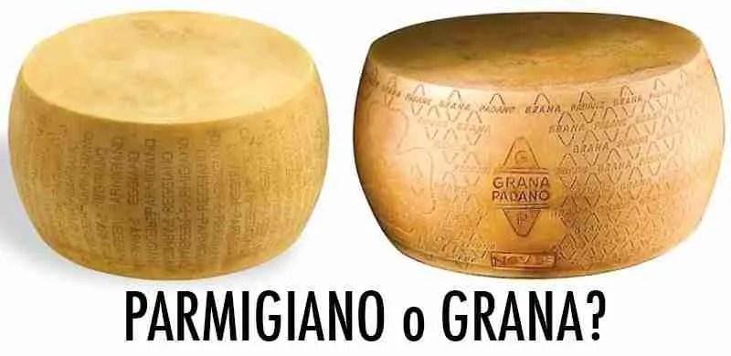 Differenza tra Parmigiano Reggiano e Grana Padano