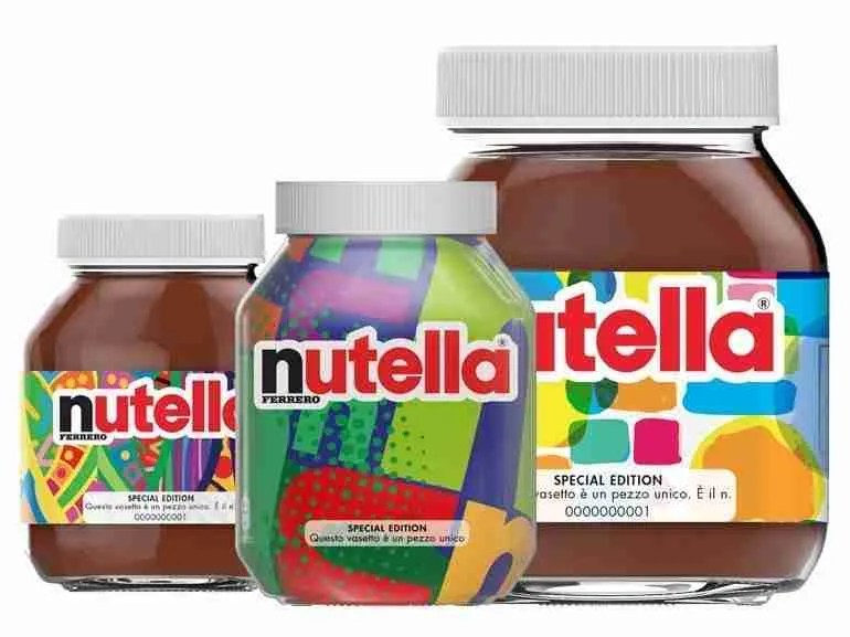 Vasetti unici Nutella, una collezione limitata da 7 milioni di pezzi