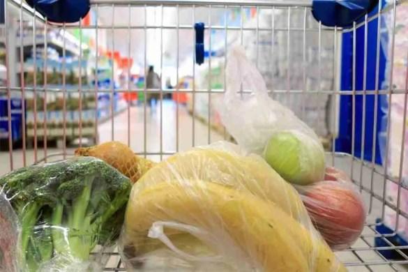 Sacchetti frutta a pagamento