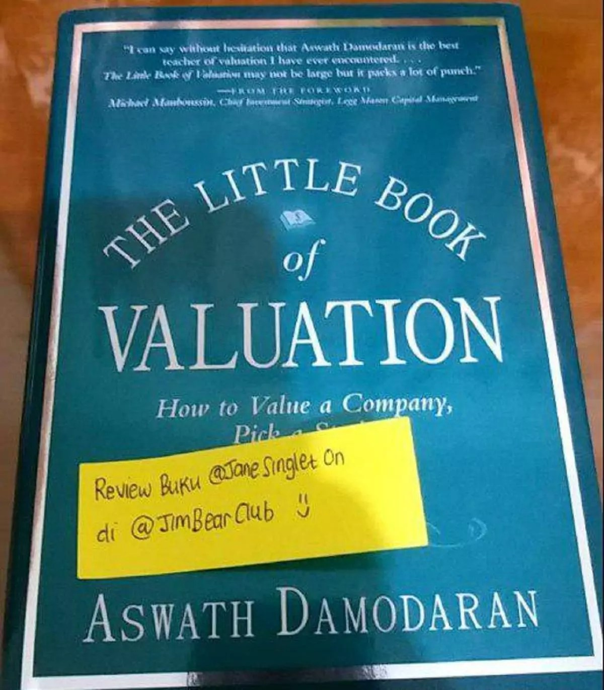 Bedah Buku : The Little Book of Valuation