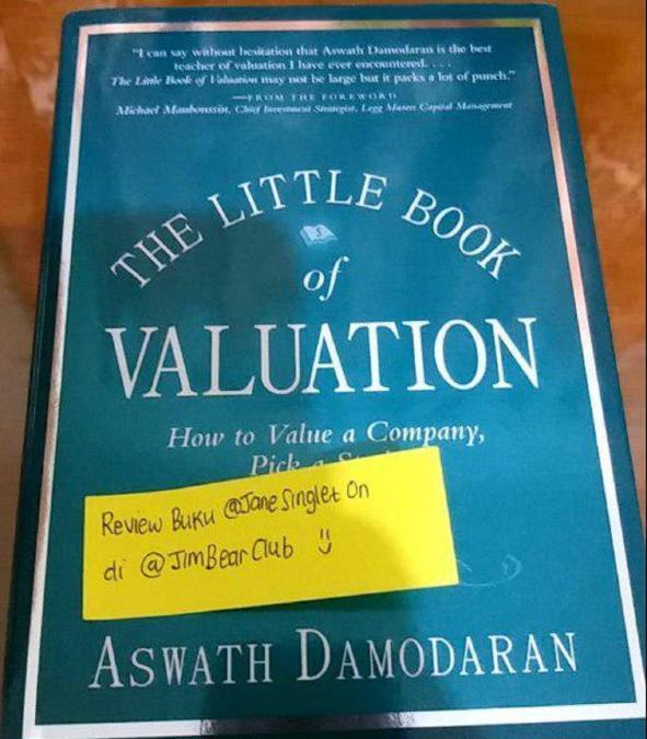 Bedah Buku : The Little Book of Valuation