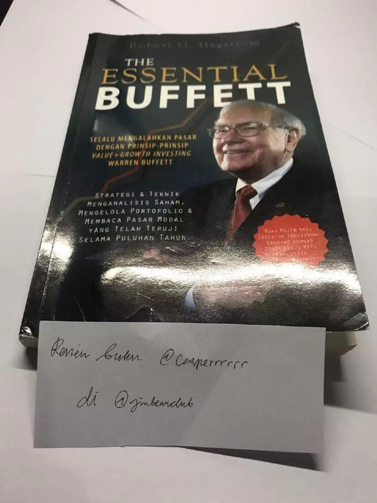 The Essential Buffett by Robert G. Hagstrom