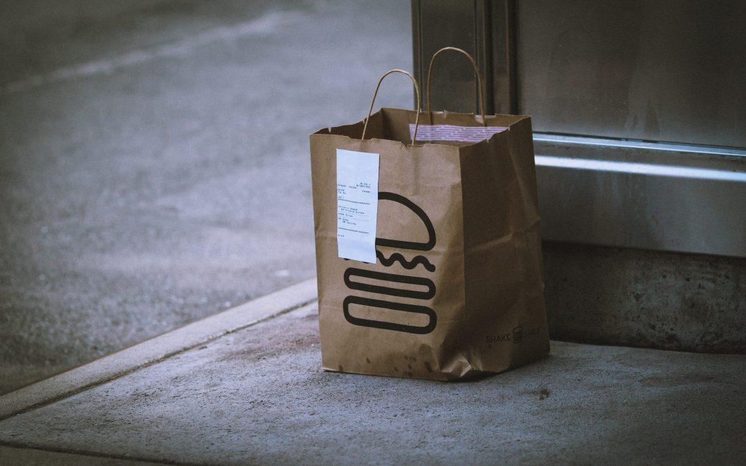 Vente à emporter et livraison = maintien d'activité
