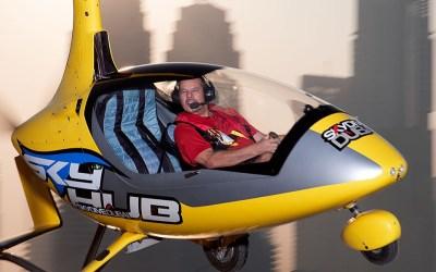 Challenge the sun at Skydive Dubai
