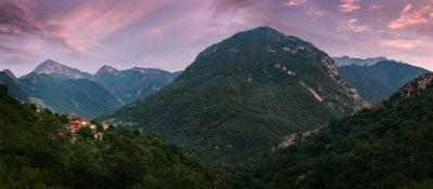 Montaña desde Cazo