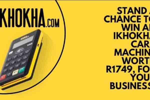 Win iKhokha card machine