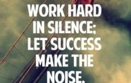 work hard at your goal