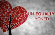 do not be unequally yoked with an unbeliever