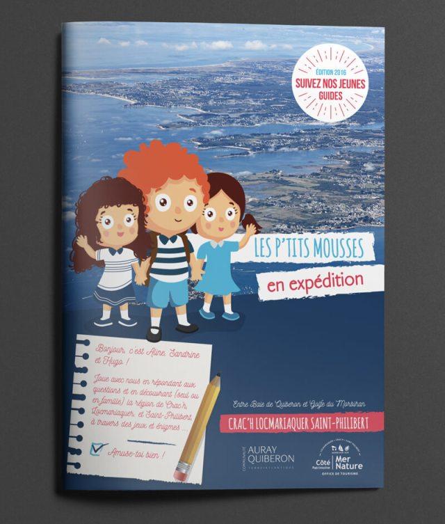 Brochure pour enfants – Office de Tourisme de Locmariaquer