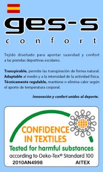 Etiqueta Ges-s Confort