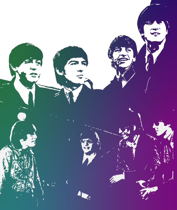 The Beatles 1964 and 1966 Revolver