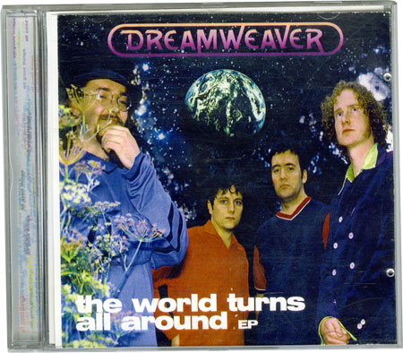 Dreamweaver - The World Turns All Around CD