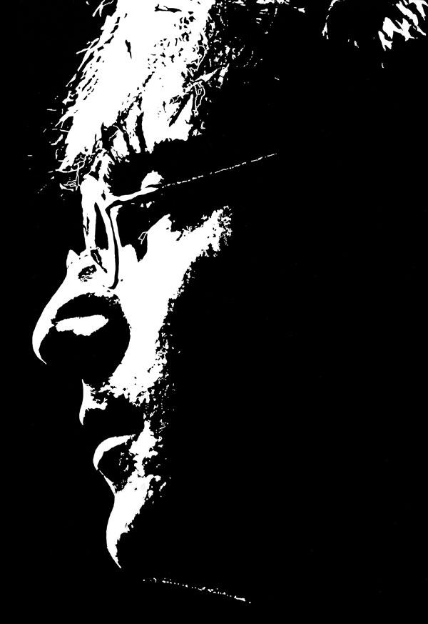 John Lennon ink drawing 1967