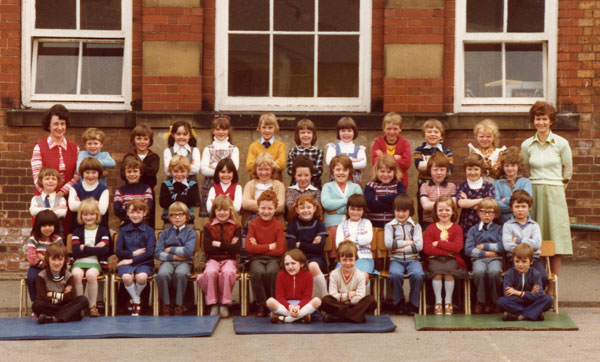 Sherburn Village Infants and Juniors 1977