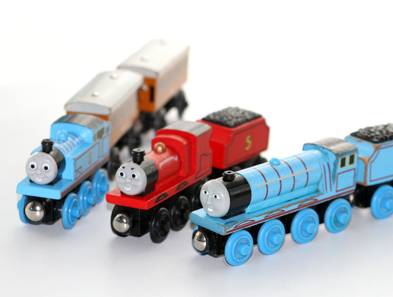 Thomas the Tank Engine and Friends, James the Red Engine and Gordon