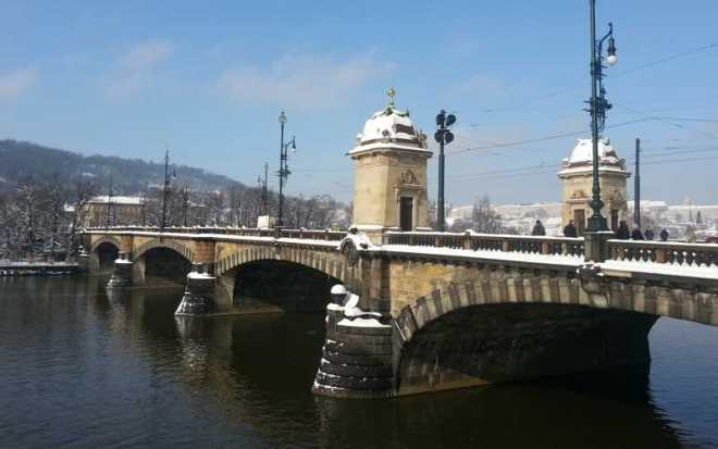 Bridge Legii from the National Theatre