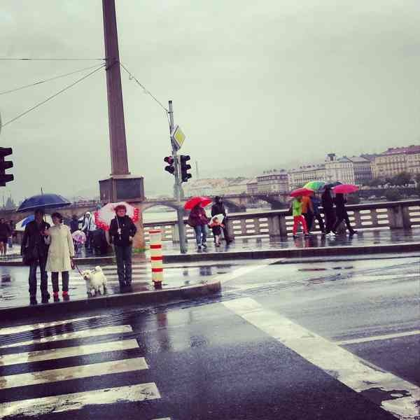 RadkaZimovaK_People_at_JiraskuvMost_FloodingVltava_Prague