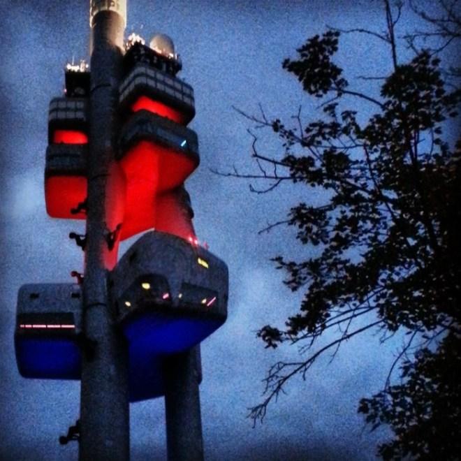 RadkaZK_ZizkovTower_Distorted
