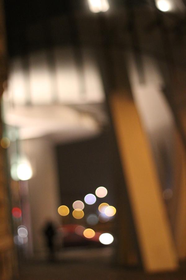 RadkaZK_lights_atnight_below_Dancinghouse_Prague