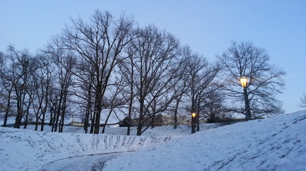 Vysehrad in first snow