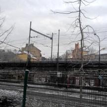 Prague-railway-in-winter-Vysehrad-snow