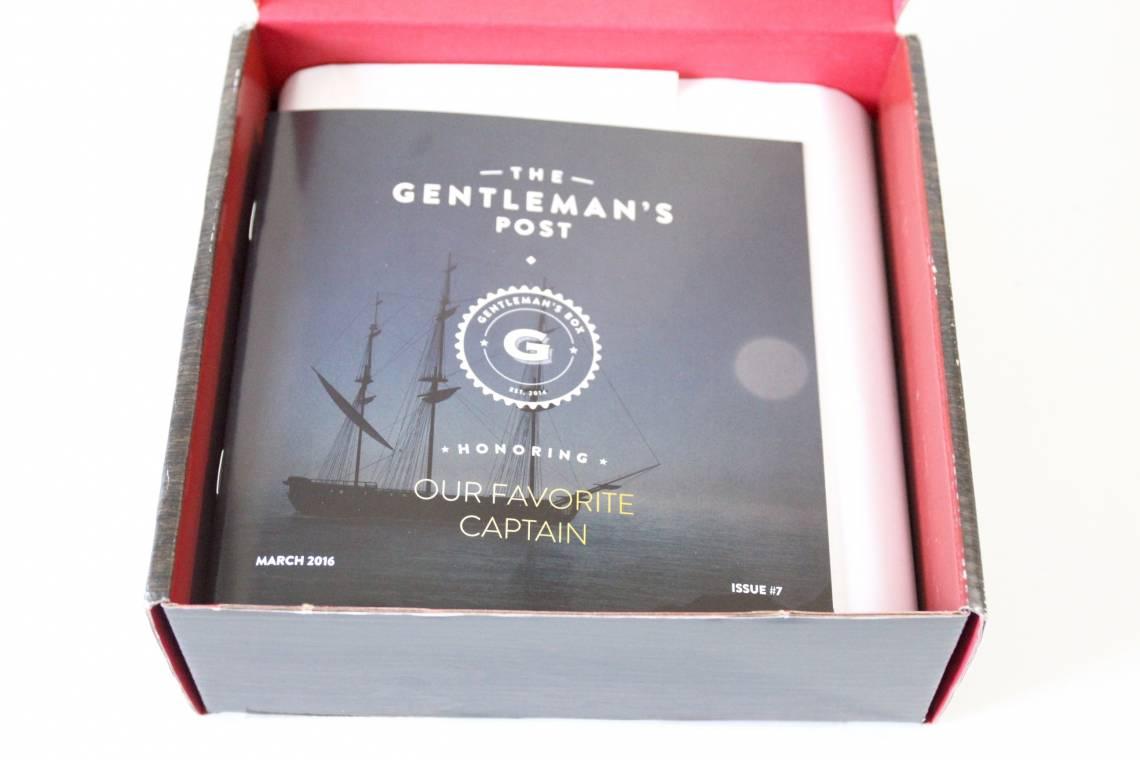 Gentleman's Box March 2016 2