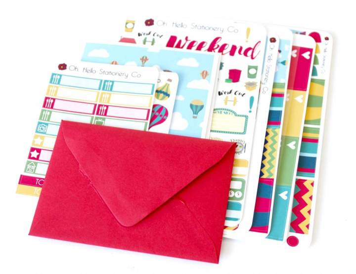 Oh Hello Stationery Co. Review August 2016 2