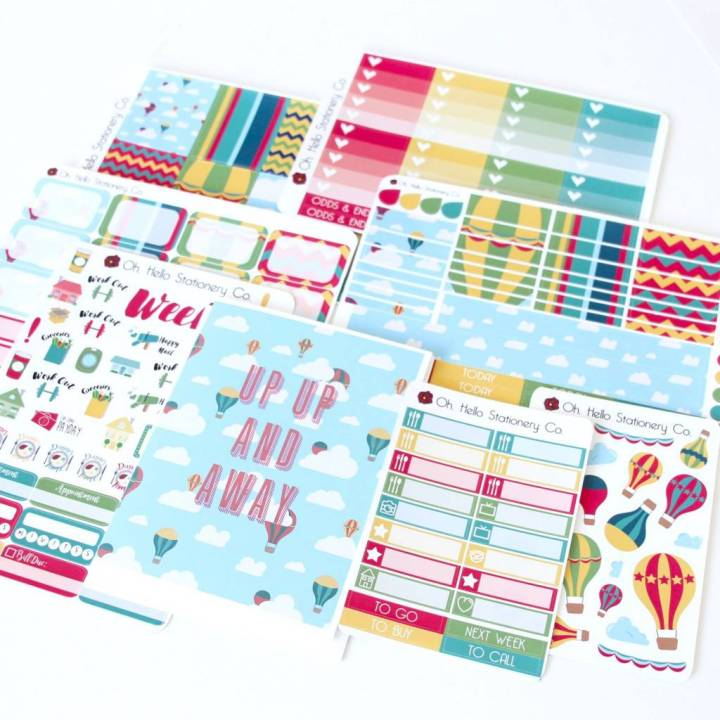 Oh Hello Stationery Co. Review August 2016 3