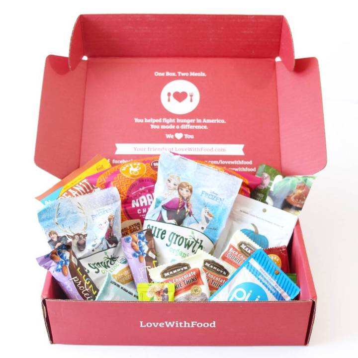 Love With Food Deluxe Box Review July 2016 2