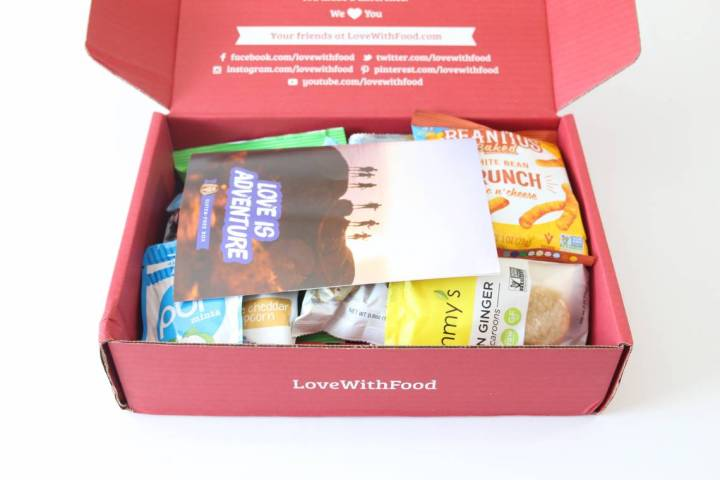 Love With Food Gluten-Free Box Review July 2016 2