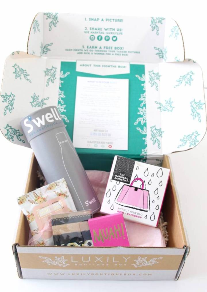 Luxily Boutique Box Review August 2016 4