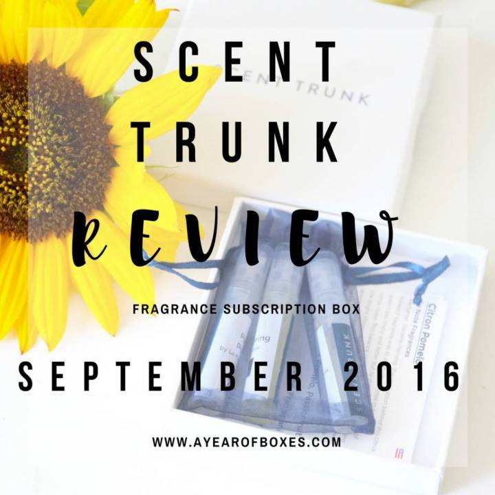 Scent Trunk Review