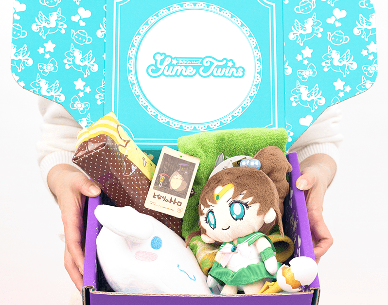 YumeTwinsis a monthly care package of everything kawaii and cute from TokyoTreat.