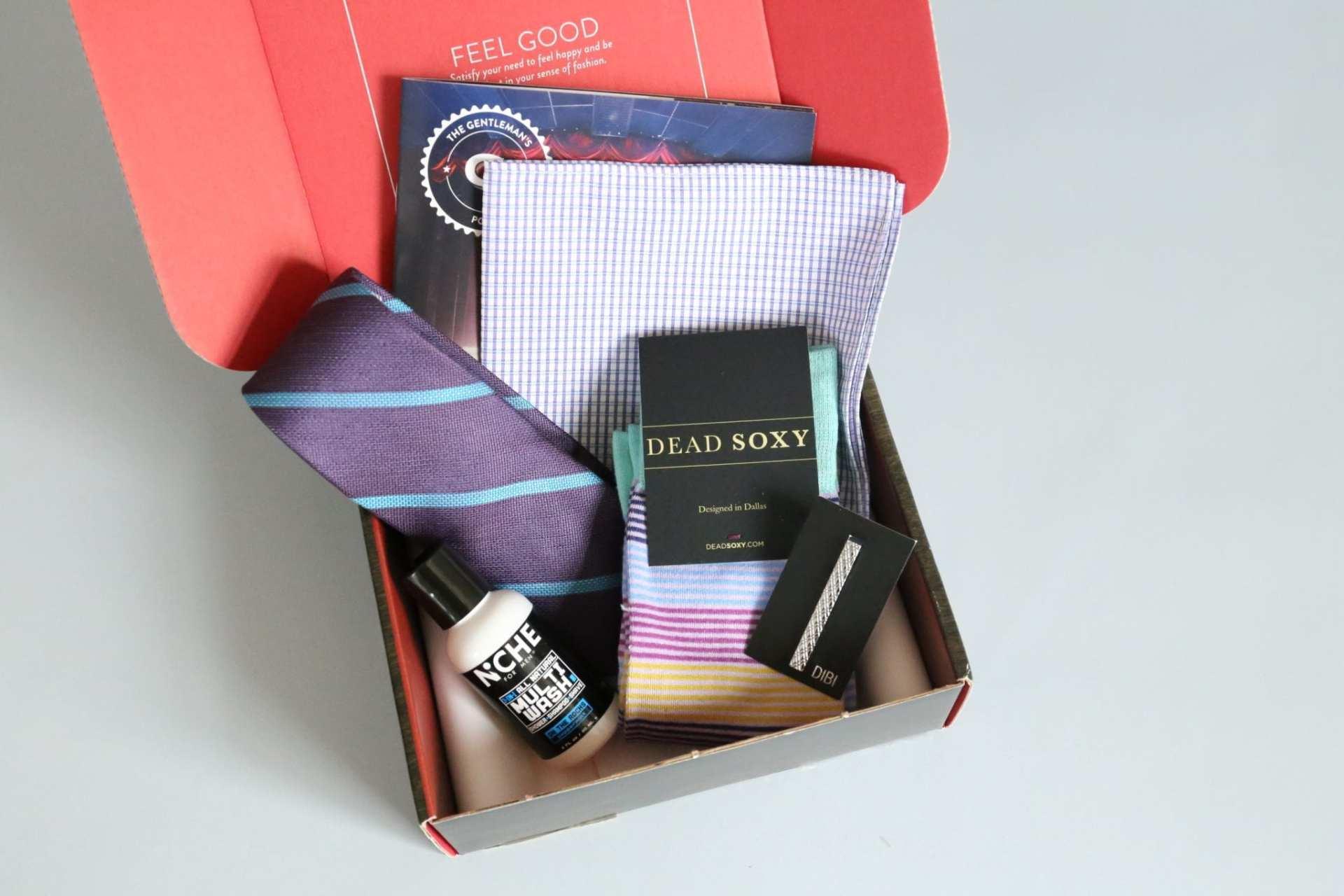 Gentleman's Box Review July 2017