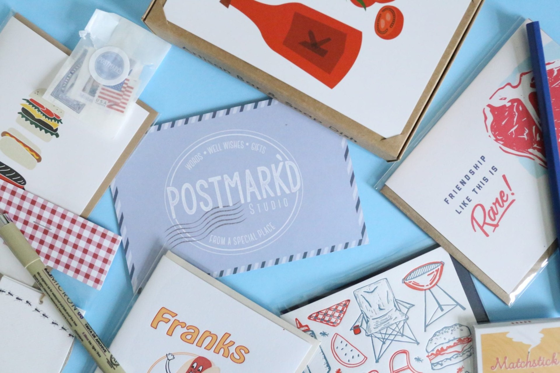 A Year Of Boxes Postmarkd Studio Review June 2018 A Year Of Boxes