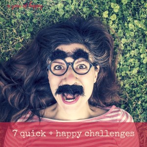 7 Quick and Happy Challenges to Renew Your Energy