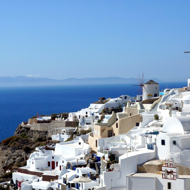top 5 villages santorini