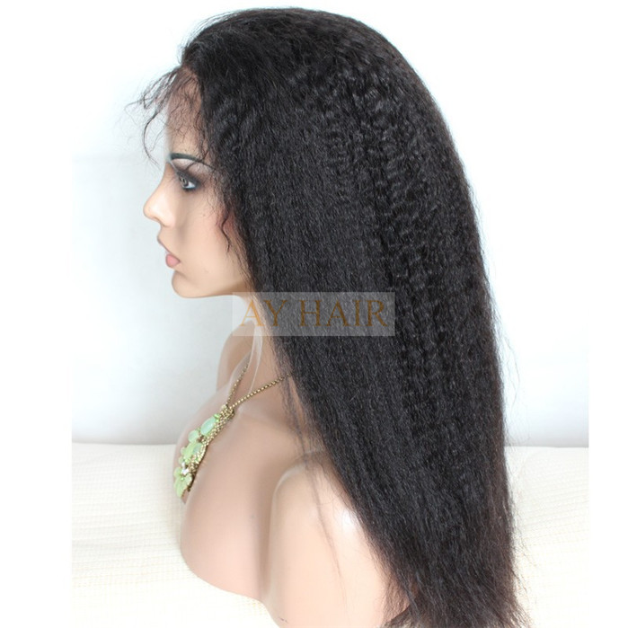 Full Lace wig Kinky straight 03
