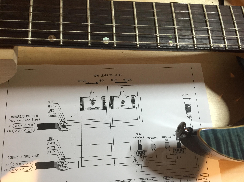 ibanez Guitar Setups and Repairs Aylesbury – Ibanez Rg Wiring-diagram Push Pull