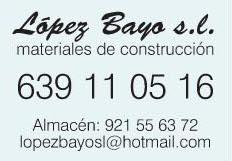 Lopez Bayo Campo de san Pedro