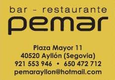 Pemar Restaurante en Ayllon