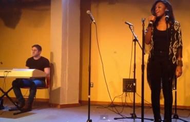 first-open-mic-ariana-grande