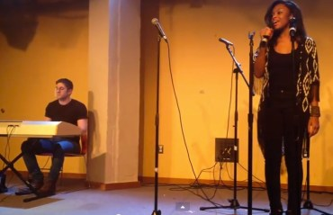 first-open-mic-ariana-grande